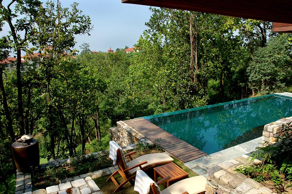 Ananda Pool Spa Himalayas