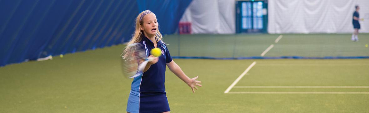 Banner   junior tenis