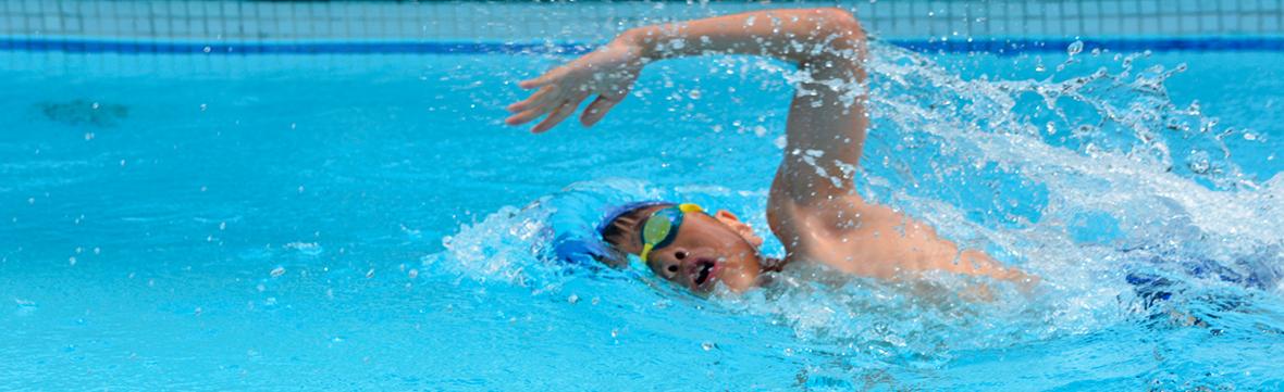 Baner   kids swimming