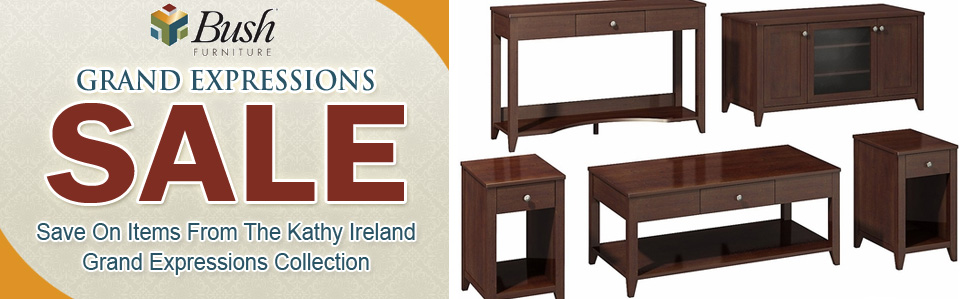 Bush Kathy Ireland Grand Expressions Furniture Sale