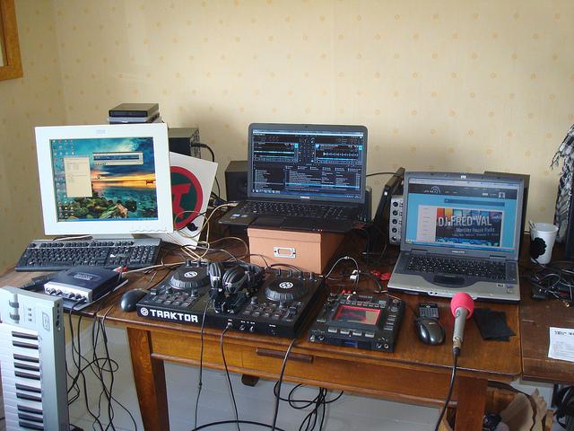 dj home setup