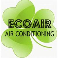 Ecoair Air Conditioner Service Logo