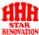 HHH Star Renovation's Logo