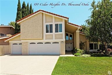 181 Cedar Heights Drive, Thousand Oaks, CA 91360