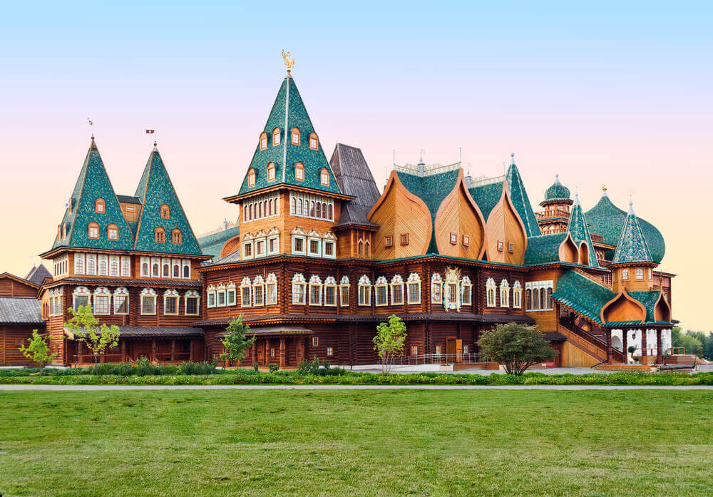 Famous Russian wooden palace