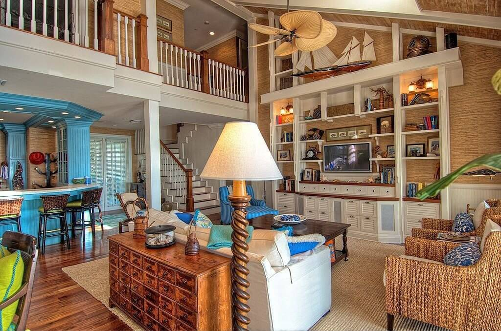 Convert Vaulted Living Room