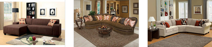Chenille Sectional Sofa Gallery
