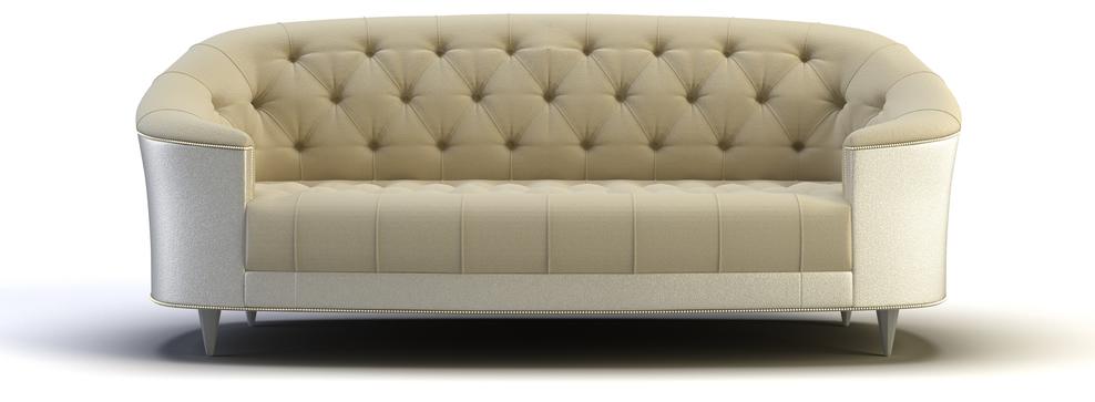 contemporary cabriole sofa design