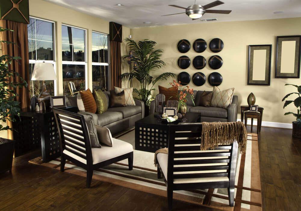 Boho Chic Living Room Sectional