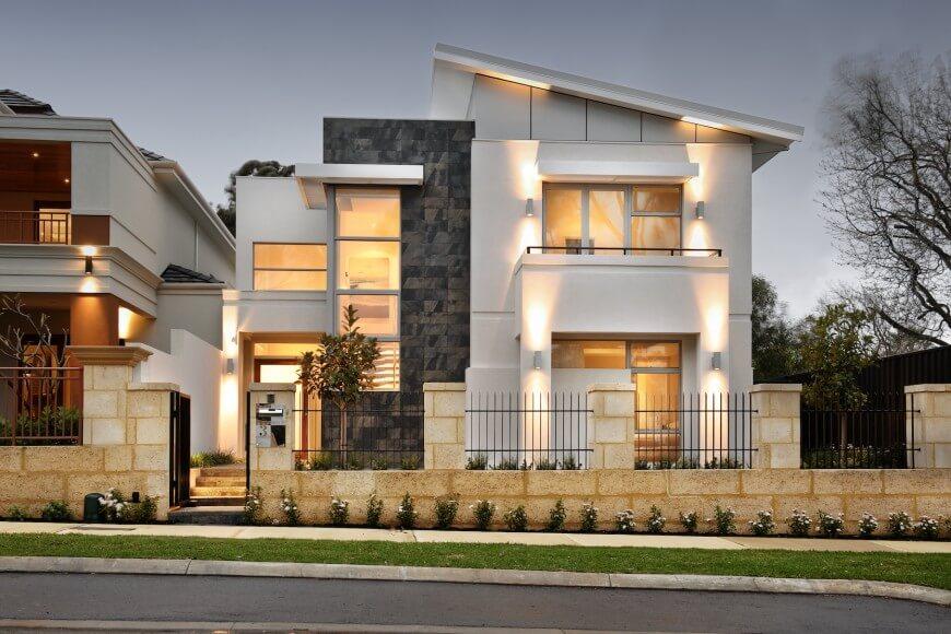 фото фасадов стильных домов