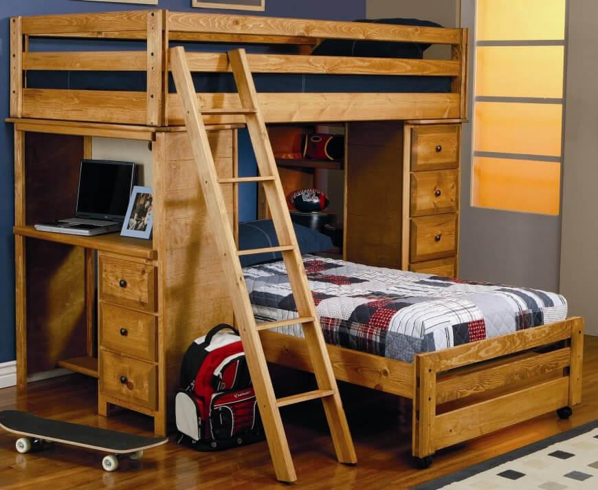 wood bunkbeds 2
