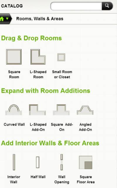 Homestyler software kitchen design section