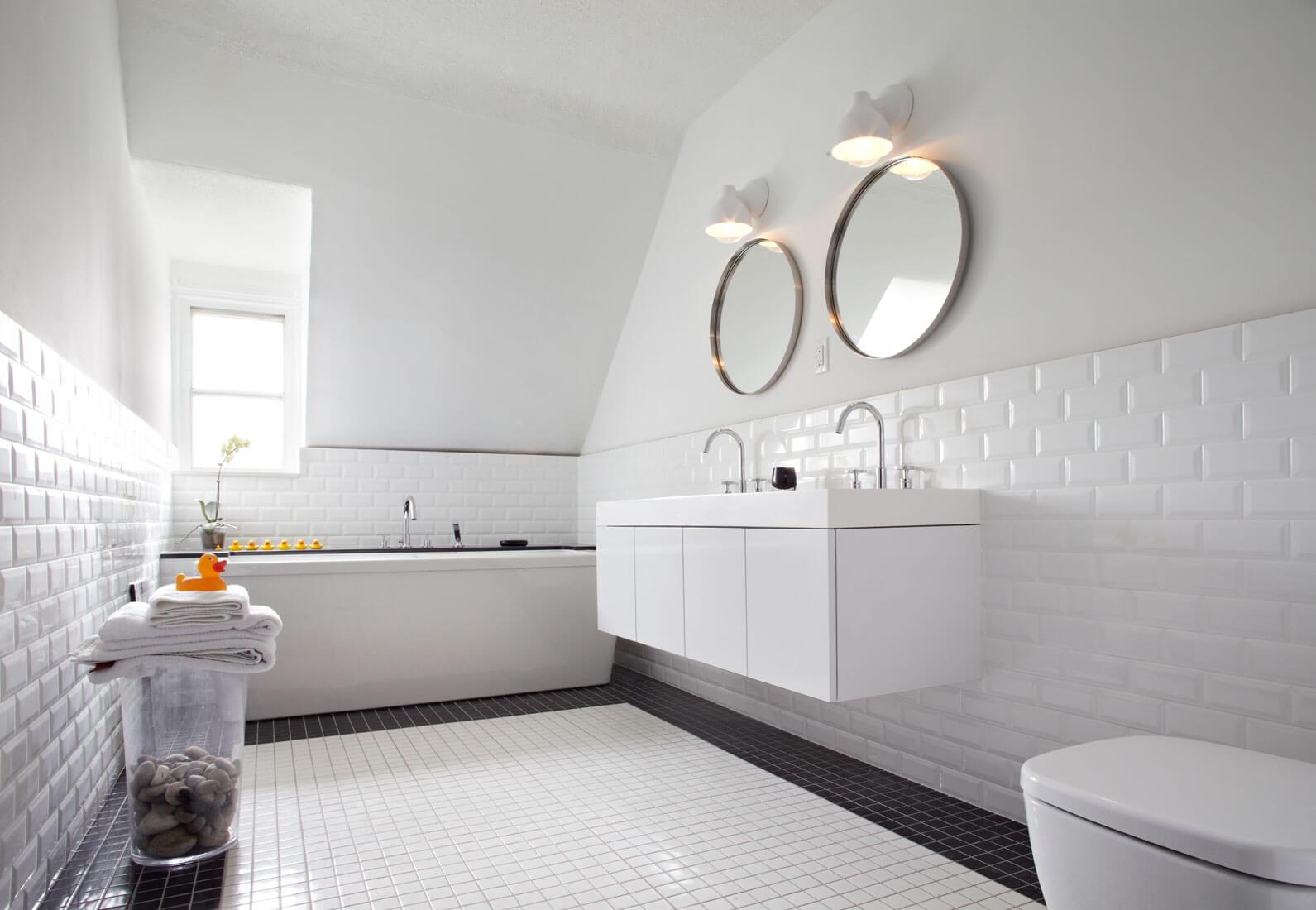 Белые санузлы дизайн