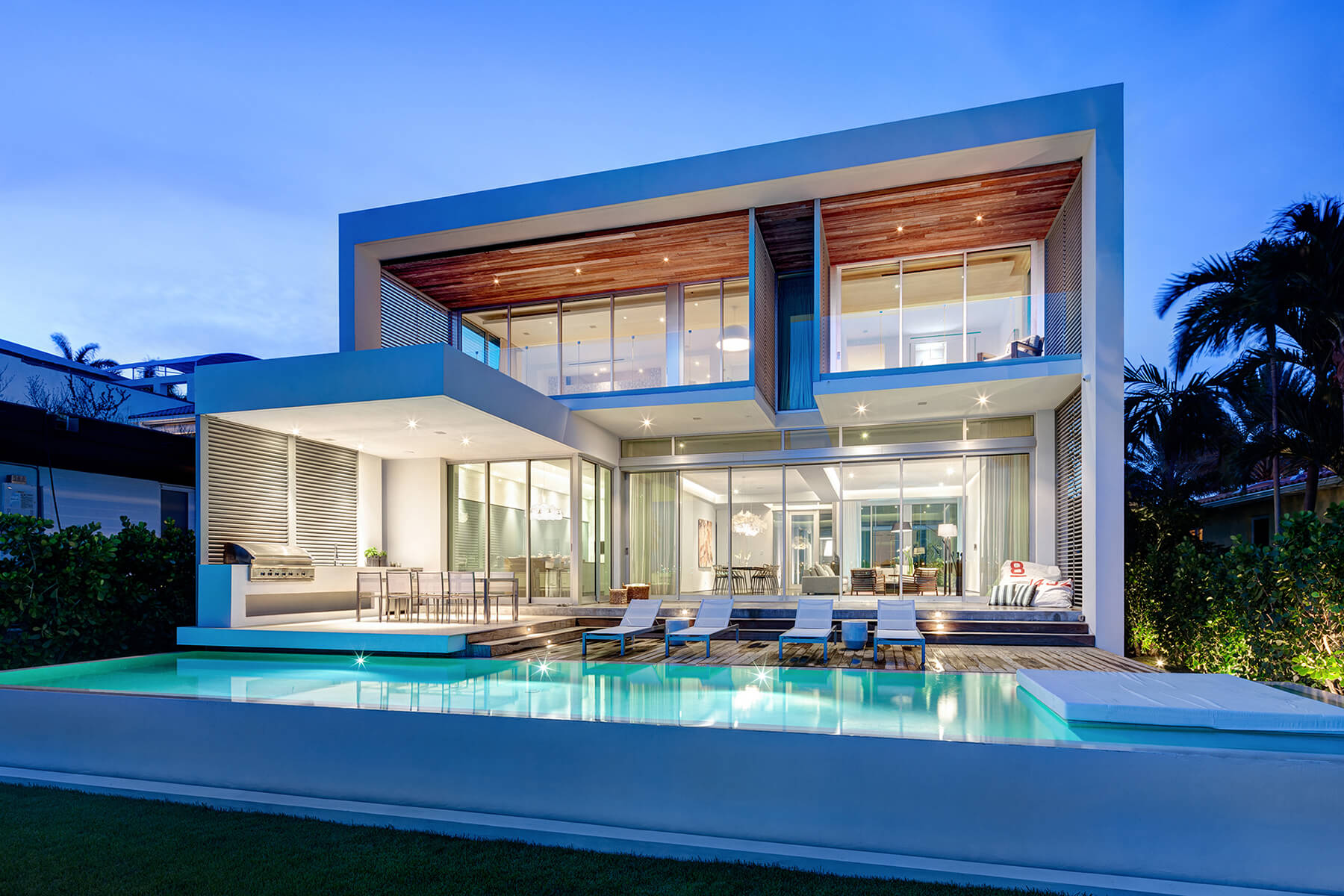 Fantastical peribere project by strang architecture for Miami vice pool design