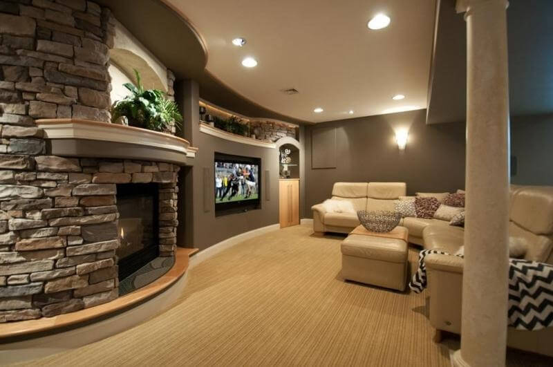 21 Gorgeous Living Rooms With Accent Walls of All Styles ...