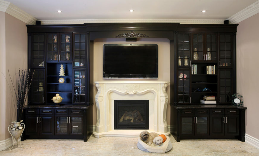 49 exuberant pictures of tv 39 s mounted above gorgeous fireplaces great images. Black Bedroom Furniture Sets. Home Design Ideas