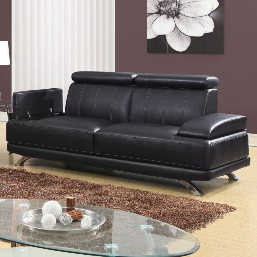 Couch modern design  Top 25 Man Cave Sofas From Around The Web