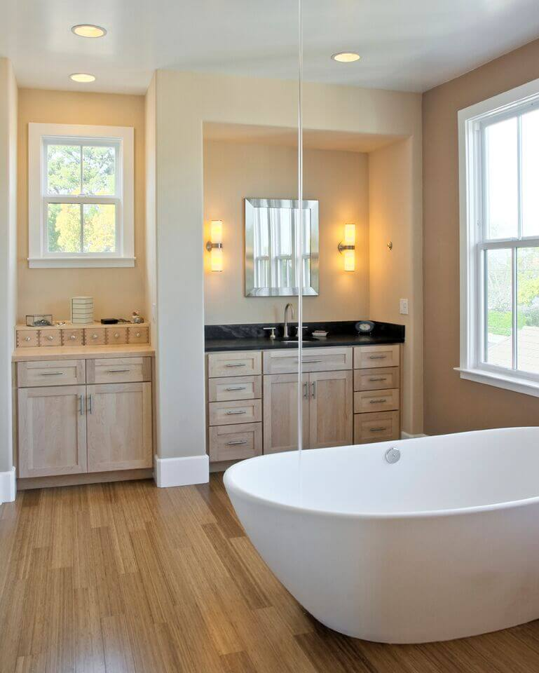 Bathroom Window Above Sink 40 master bathroom window ideas – graphic world co®