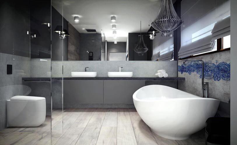 bathrooms with dark countertops  homedesignfind, Home decor