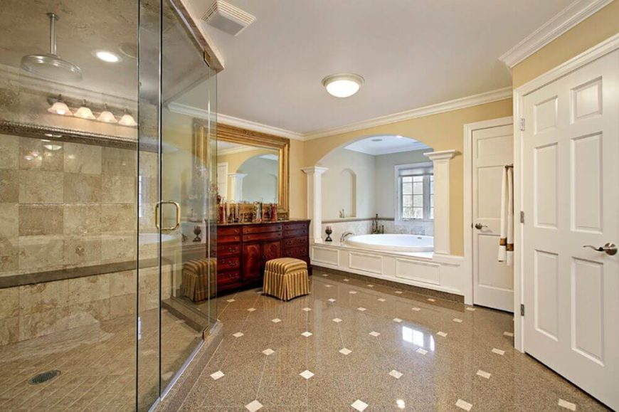 46 Bathrooms With Separate Showers And Tubs
