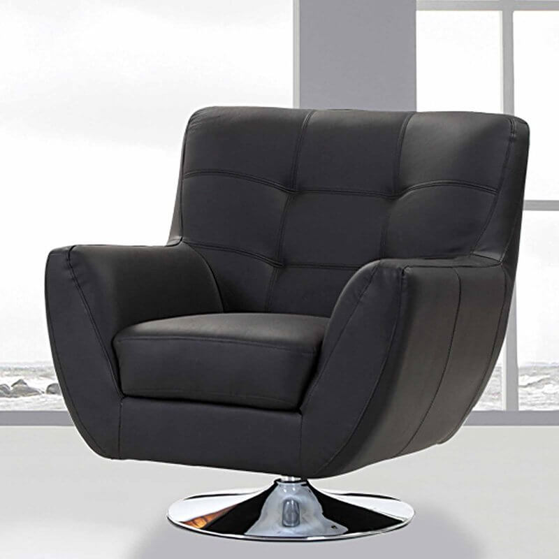 This beautiful modern chair is likely to make your man cave feel like a CEOu0027s & 25 Best Man Cave Chairs islam-shia.org