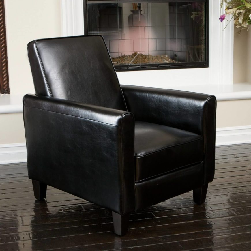 Combining the style and luxury of a square-frame and smooth leather upholstery with the ... & 25 Best Man Cave Chairs islam-shia.org