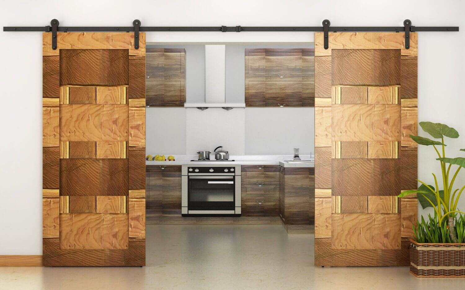 30 sliding barn door designs and ideas for the home for New door design 2016