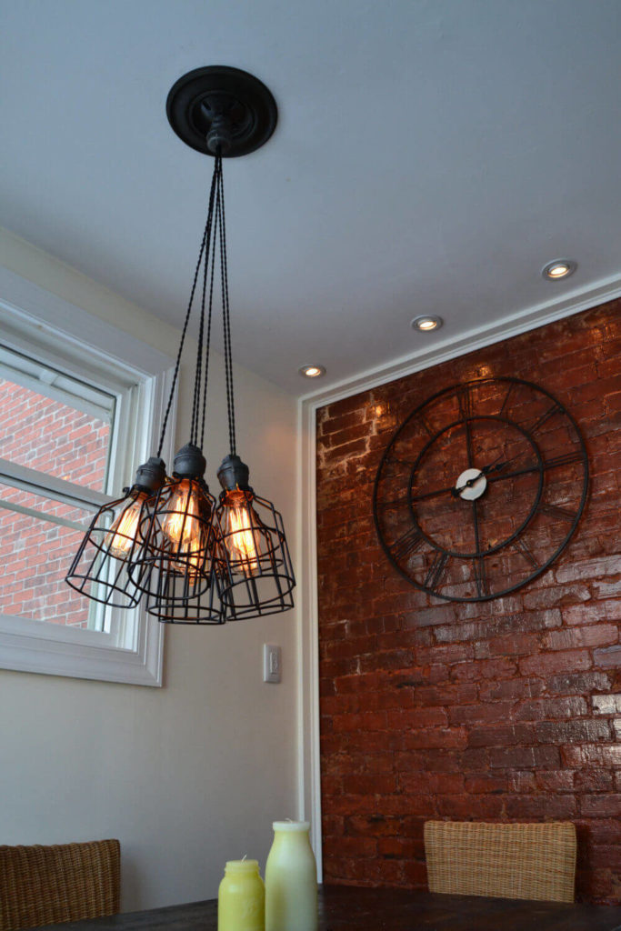 a flexible industrial light that will look great in nearly any room in your home