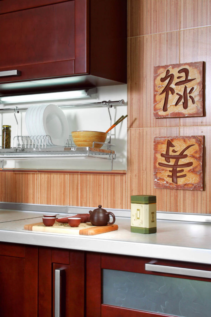 33 Sleek Asian Kitchen Ideas