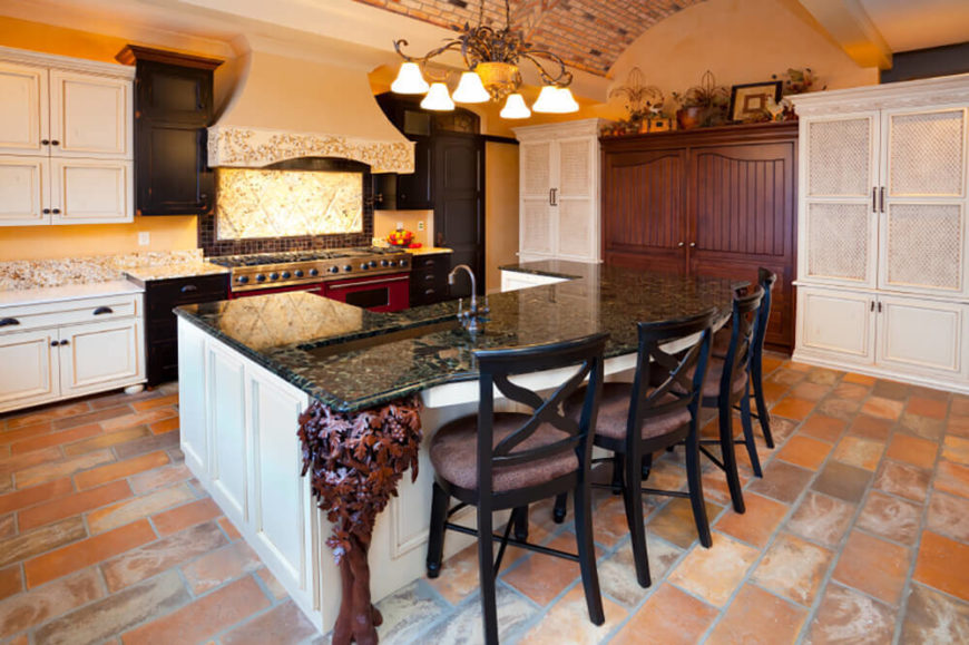 There Are Many Elements That Go Into A Mediterranean Kitchen. When These  Features All Come