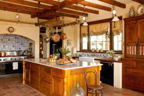 50 mediterranean style kitchen ideas for 2017 for Mediterranean style kitchen photos