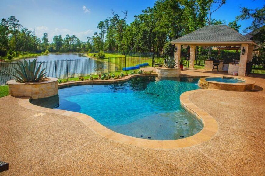 34 Glorious Pool Gazebo Ideas : 17z Pool Gazebo 870x579 from www.homestratosphere.com size 870 x 579 jpeg 146kB
