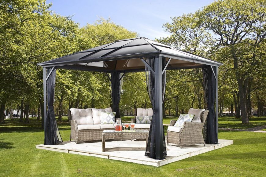 34 Metal Gazebo Ideas To Enhance Your Yard And Garden With ...
