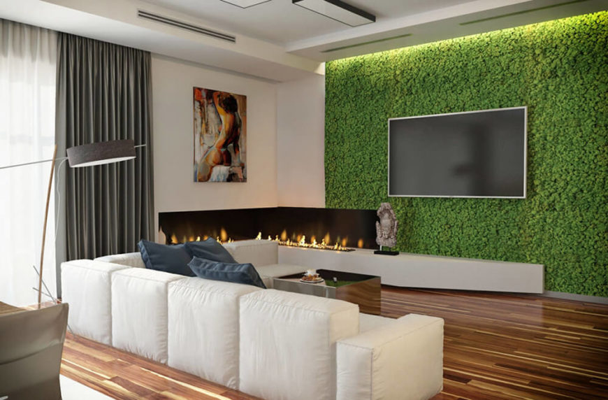 Make Living Wall Here39s Much Closer Look Bordering Corner With Embedded  Make A Living Wall. Here39s How Many   makitaserviciopanama com