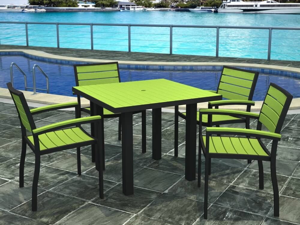 Stunning Green Plastic Garden Furniture Sets Ideas Home