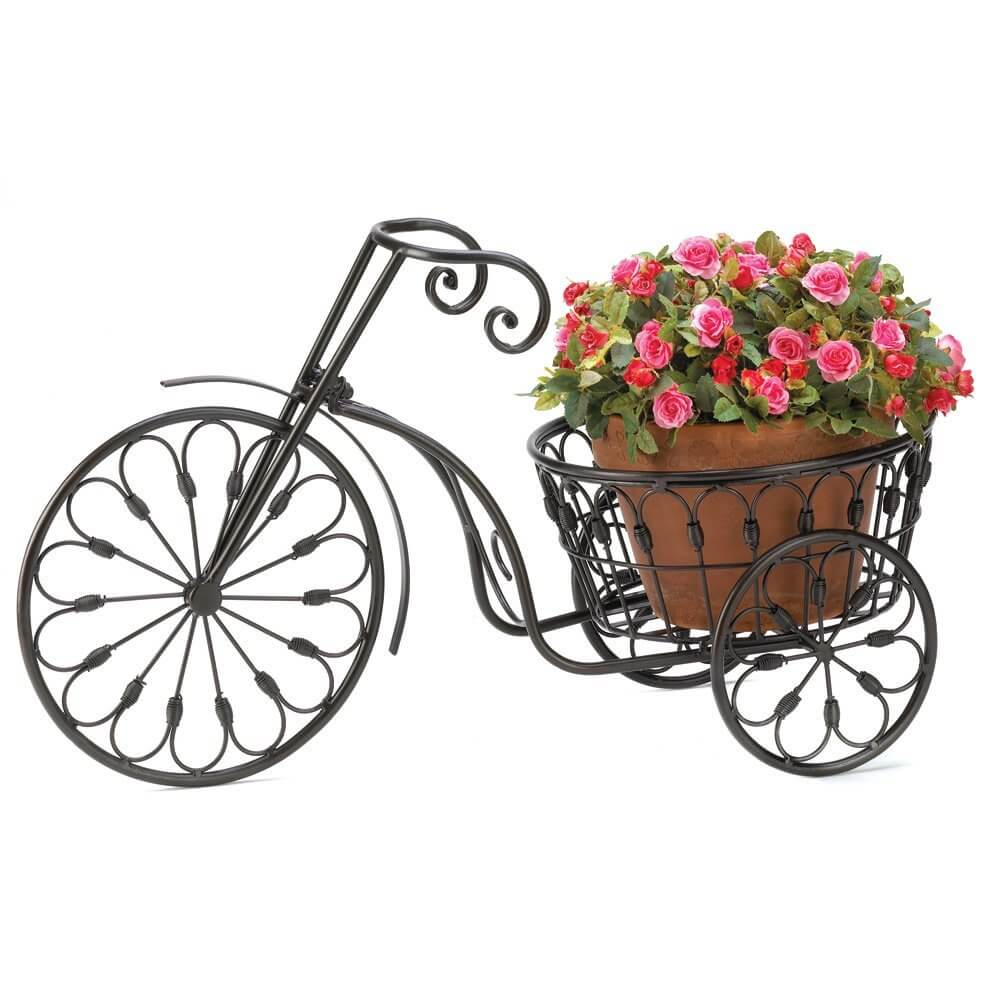 33 Bicycle Flower Planters For The Garden Or Yard