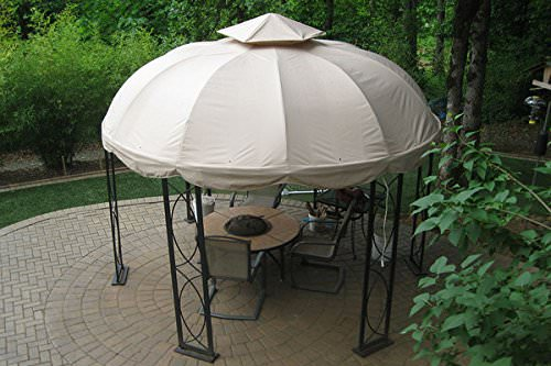 30 round gazebos that are shady and stylish. Black Bedroom Furniture Sets. Home Design Ideas