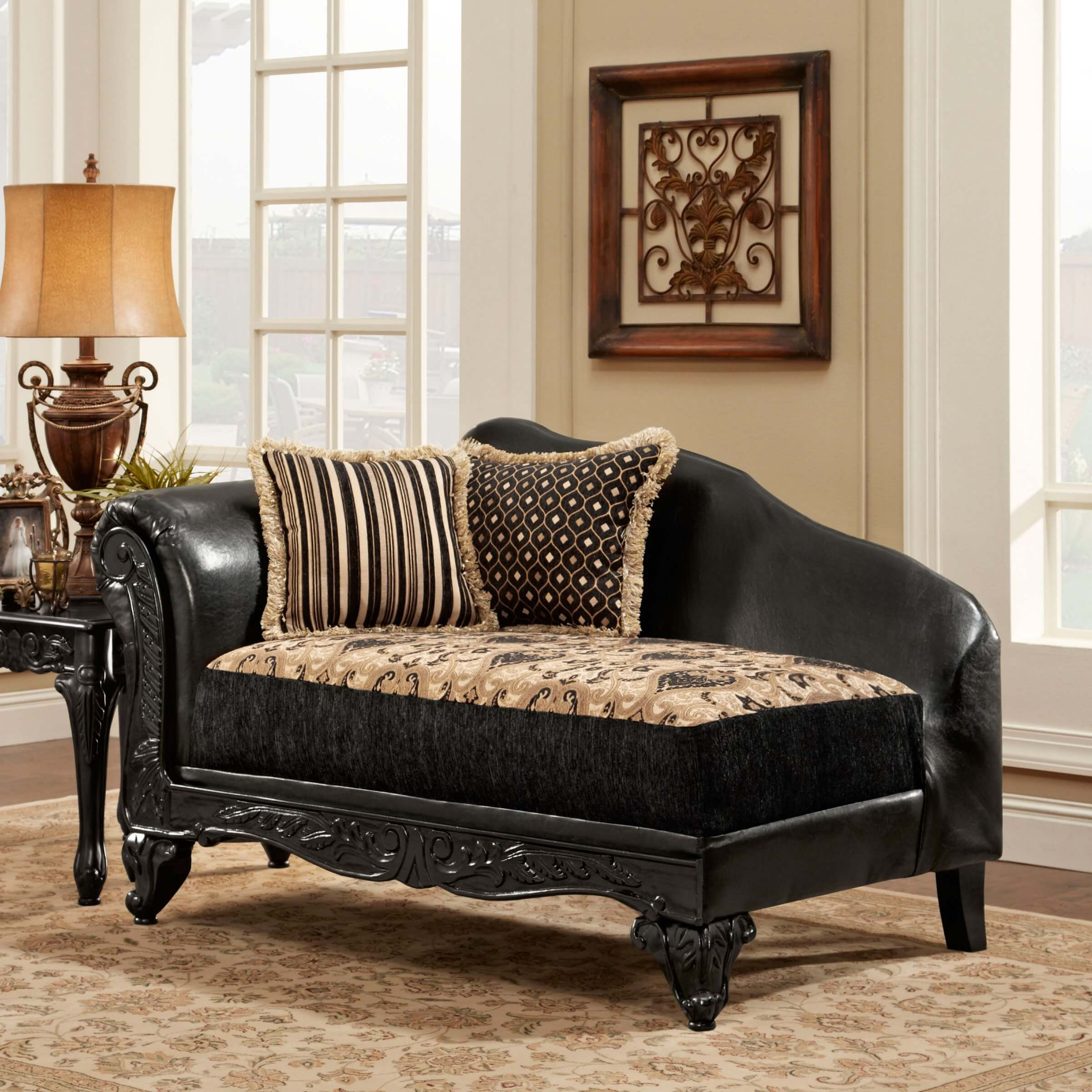 Missoni Home Lounger Chair Jalamar: Top 20 Types Of Black Chaise Lounges (Buying Guide