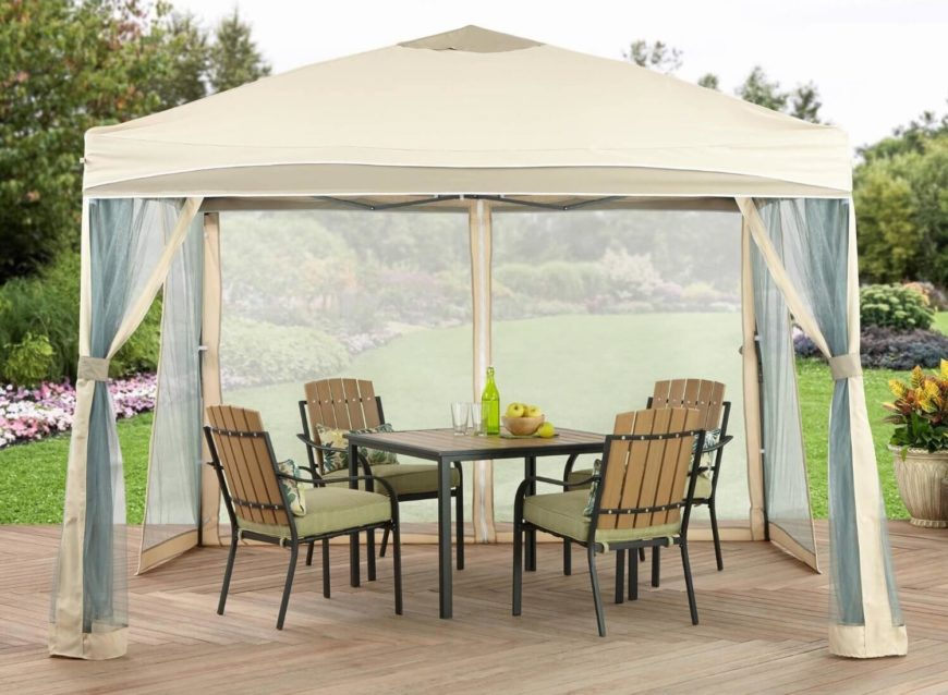 Small portable gazebo 28 images how to turn portable gazebo into highly beautiful gazebo - Keep mites away backyard hiking ...