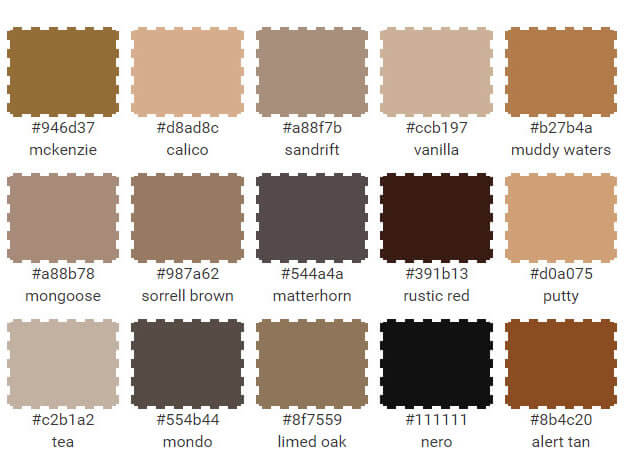 Tan names directory motorcycle review and galleries - Tan and brown color schemes ...