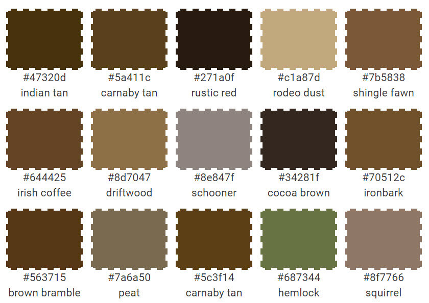 Brown Paint Color Names Amusing 78 Best Primitive
