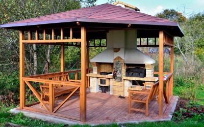 1 Wooden Gazebo Ideas