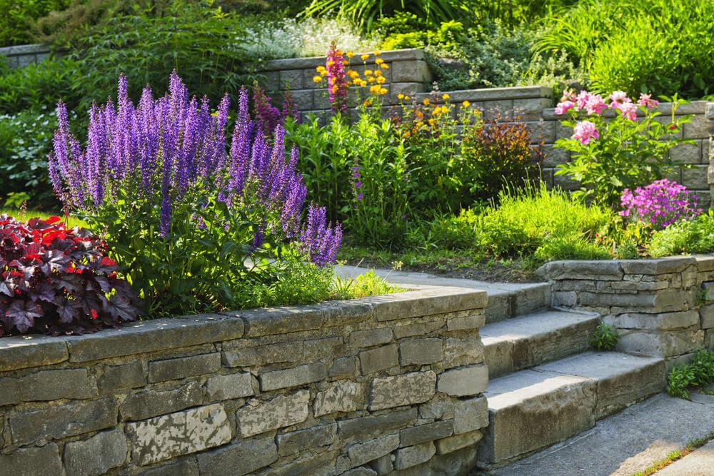 60 Outdoor Garden Landscaping Step Ideas