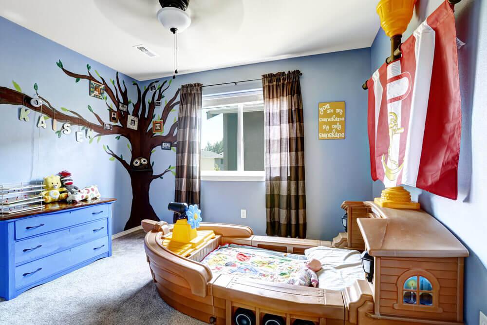 34 fun girls and boys kid 39 s beds bedrooms photos - Jarige jongenskamer ...