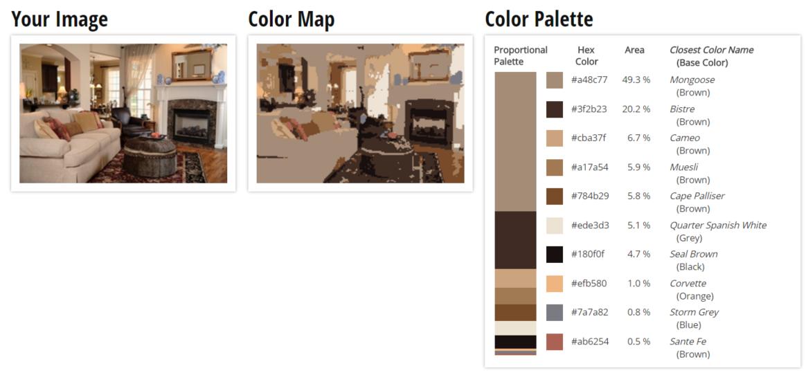 Living Room Color Scheme Vanilla Sorrell Brown Rustic Red Tan