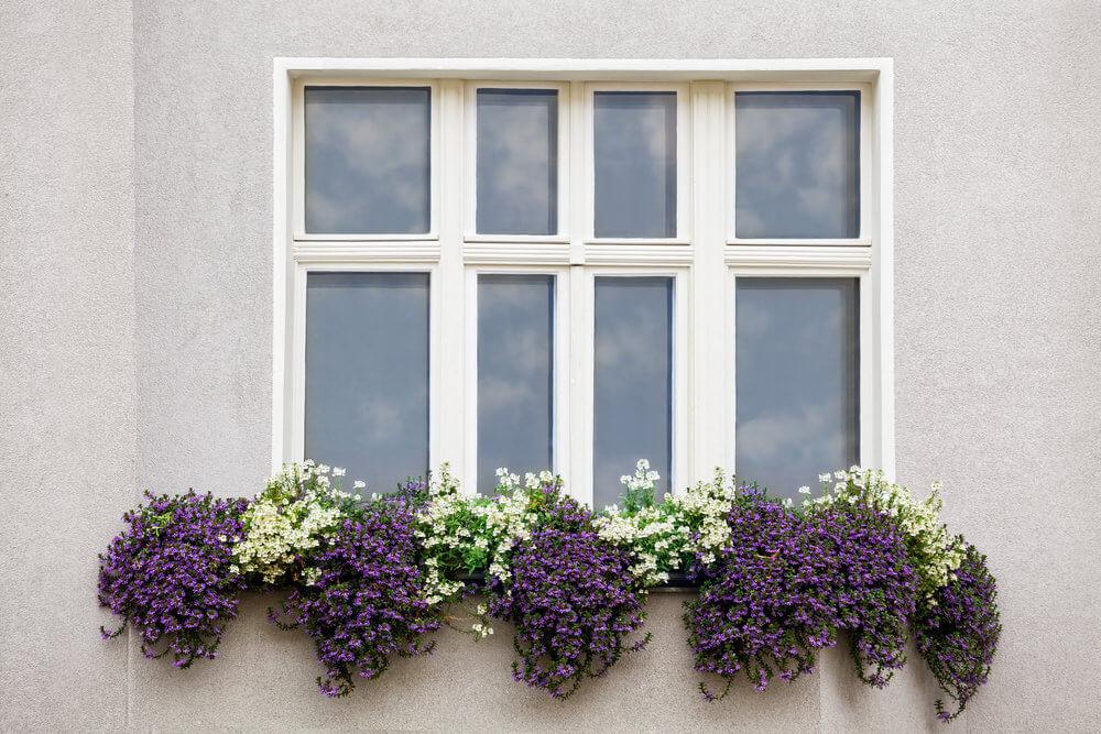 Flower Window Baskets : Window and balcony flower box ideas photos