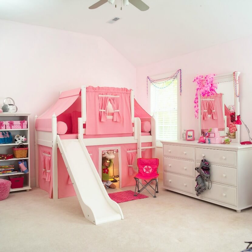 top 10 kids loft beds with slides. Black Bedroom Furniture Sets. Home Design Ideas