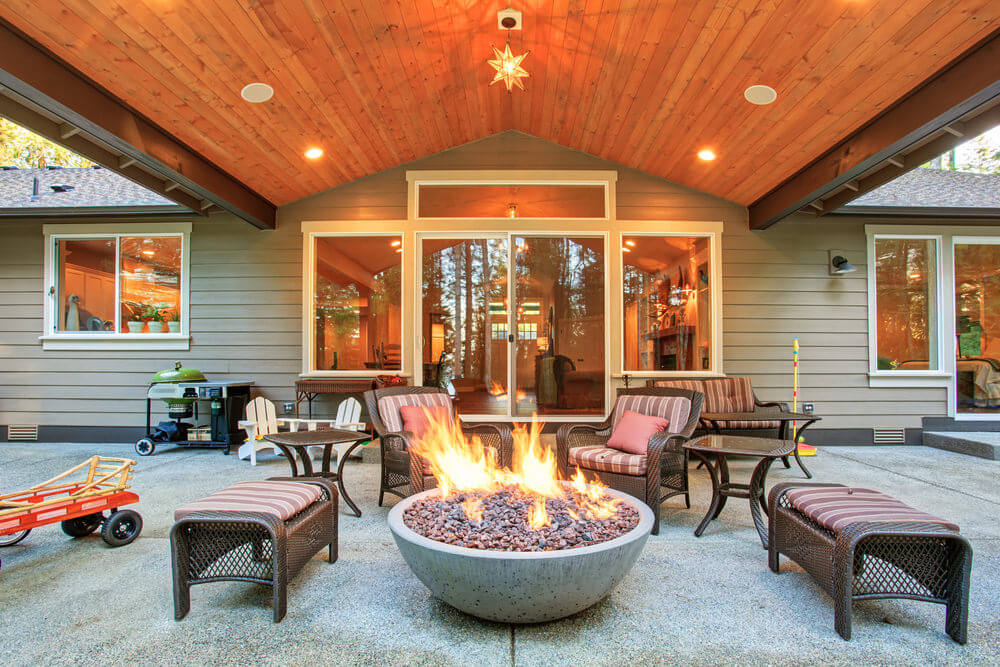 42 backyard and patio fire pit ideas - Fire Pit Ideas Patio