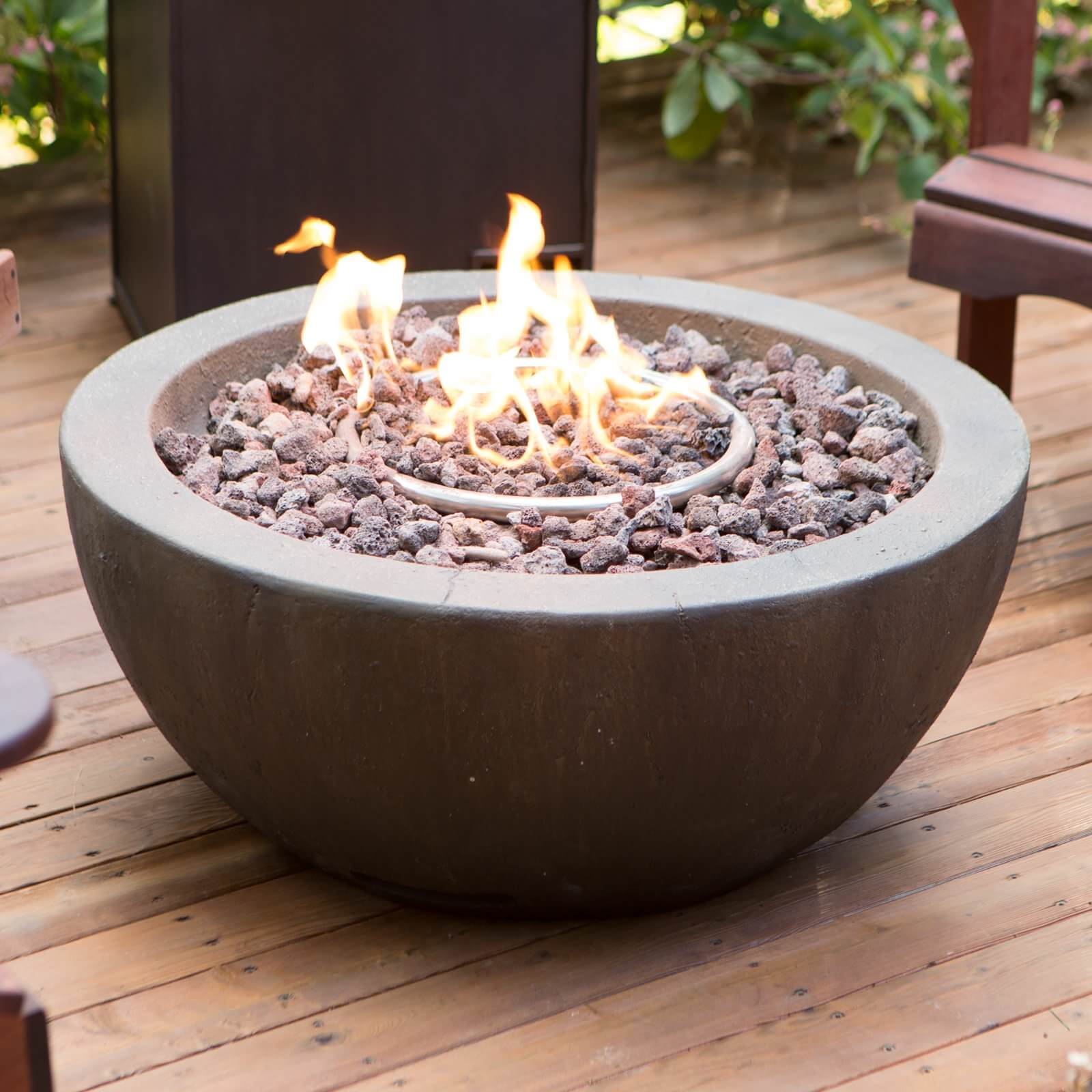 Patio Gas Fire Pits : Backyard and patio fire pit ideas