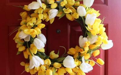 1DIY-Spring-Flower-Door-Wreath